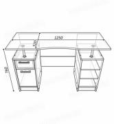 школьник 2 стол схема