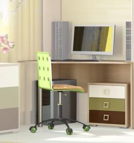 Детский письменный угловой стол «Тетрис» №8 ГН-154.008