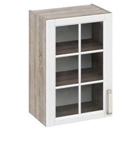 Шкаф верхний со стеклом В_72-50_1ДРс
