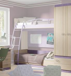 Набор мебели для детской комнаты «Индиго» №1 ГН-145.001