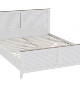 Двуспальная кровать с изножьем «Ривьера» СМ 241.01.001