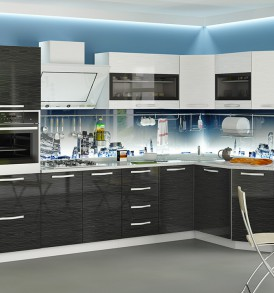 «Скайлайн» модульная мебель для кухни