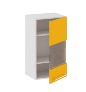 Шкаф верхний со стеклом (правый) В_72-40_1ДРс(Б)