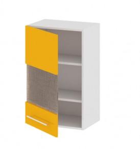 Шкаф верхний со стеклом (левый) В_72-45_1ДРс(А)