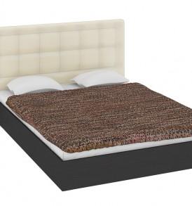 Двуспальная кровать 1400 с мягкой спинкой «Токио» СМ-131.02.002-М
