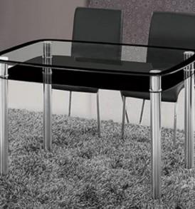 Стол обеденный «ДТ-241″( прямоугольный — оранж)