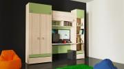 Набор мебели для детской комнаты «Киви» №19 ГН-139.019