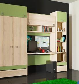 Набор мебели для детской комнаты «Киви» №1 ГН-139.001