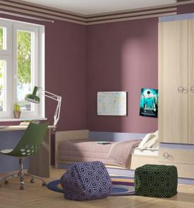 Набор мебели для детской комнаты «Индиго» №25 ГН-145.025