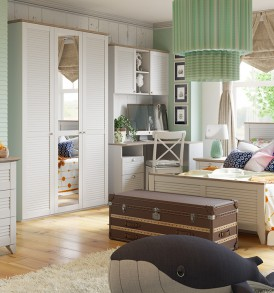 Набор мебели для детской комнаты «Ривьера» №1 ГН-241.101