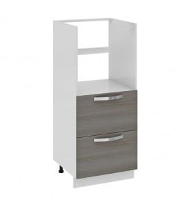 Шкаф комбинированный под бытовую технику с 2-мя ящиками КБ2я_132(72)-60_2Я