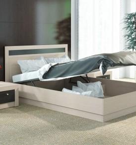 Двуспальная кровать 1400 с подъемным механизмом «Токио» СМ-131.13.001