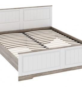 Двуспальная кровать с изножьем «Прованс» СМ-223.01.003