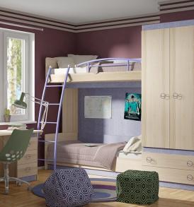 Набор мебели для детской комнаты «Индиго» №19 ГН-145.019