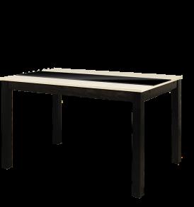 Стол кухонный раскладной со стеклом «ДиезТ7» С-326
