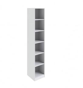Шкаф торцевой с 1-ой дверью с зеркалом «Ривьера» СМ 241.07.004