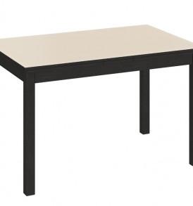 Обеденный раздвижной стол со стеклом «Диез Т11» С-343