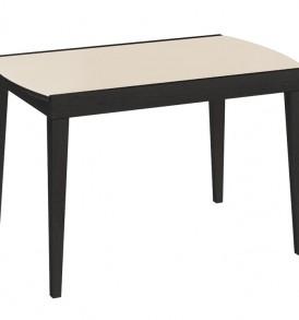Обеденный раздвижной стол со стеклом  «Танго Т2» С-362
