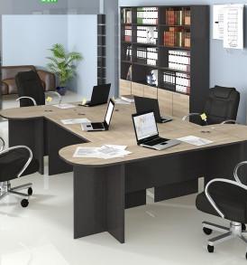 Набор офисной мебели для кабинета руководителя №3 «Успех-2» ГН-184.003