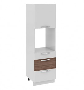 Шкаф пенал под бытовую технику (3-хящ.системы) с 3-мя ящиками ПБ(3)3я_192-60_3Я1ДО