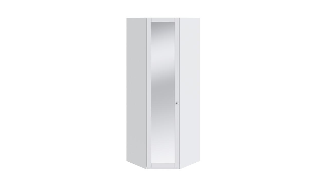 Угловой белый шкаф с зеркалом купить.