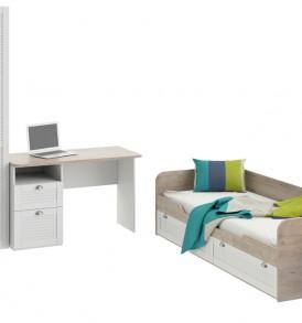 Набор мебели для детской комнаты стандартный «Ривьера» ГН-241.100