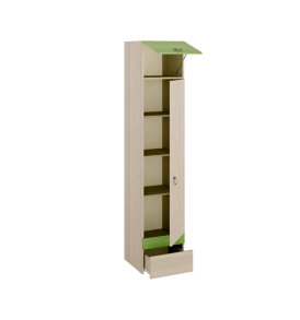 Шкаф для белья «Киви» ПМ-139.06
