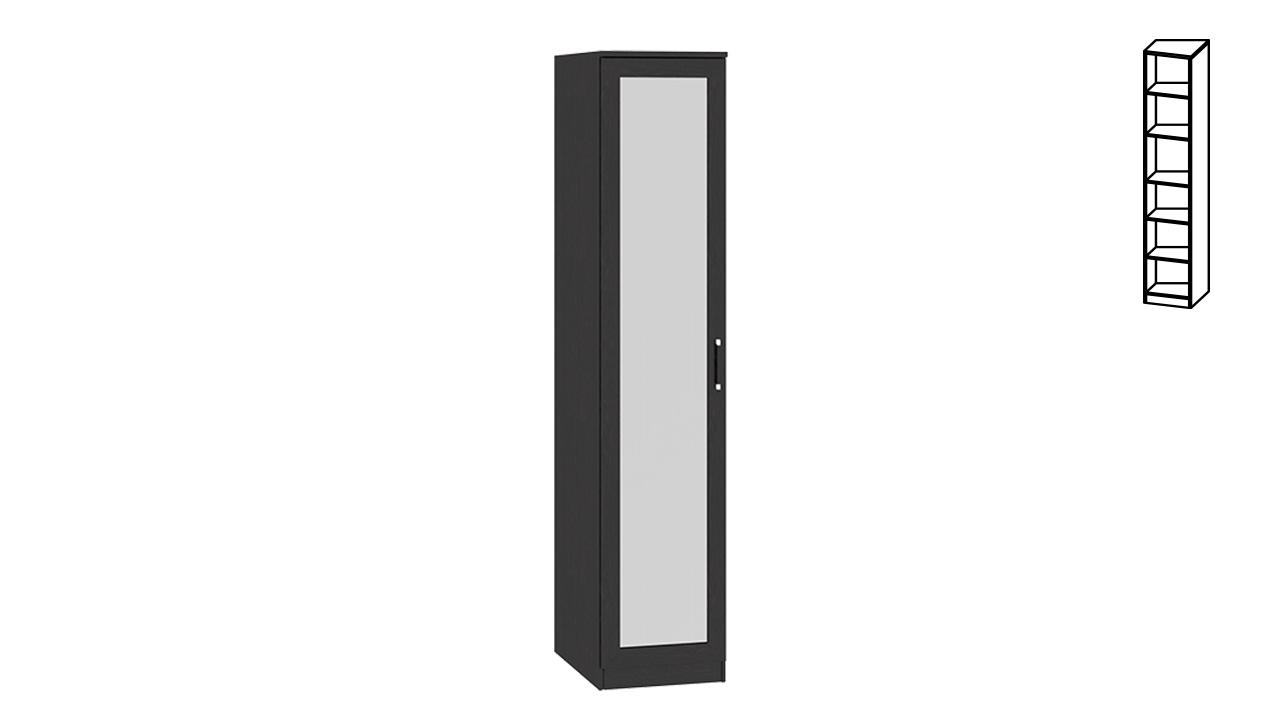 """Шкаф торцевой с зеркальной дверью """"токио"""" см-131.10.002 купи."""