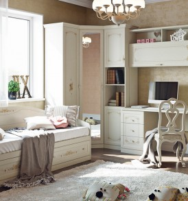 Набор мебели для детской комнаты «Лючия» №3 ГН-235.103