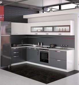 «Графит» модульная мебель для кухни