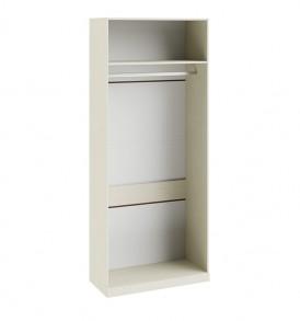 Шкаф для одежды с 1-ой глухой и 1-ой зеркальной дверями «Лючия» СМ-235.22.03