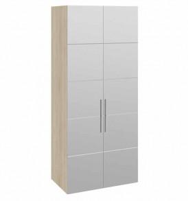 Шкаф для одежды 2-мя зеркальными дверями «Ларго Люкс» СМ-181.07.012