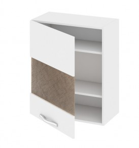 Шкаф верхний со стеклом (левый) В_72-60_1ДРс(А)
