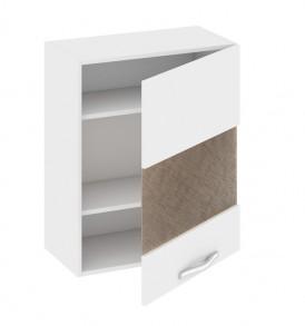Шкаф верхний со стеклом (правый) В_72-60_1ДРс(Б)