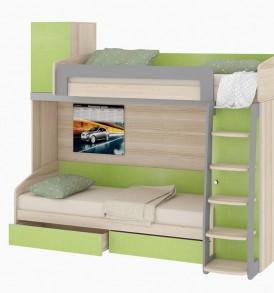 Двухъярусная кровать «Киви» №2 ГН-139.002