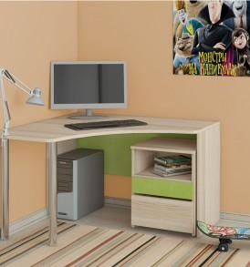 Детский письменный угловой стол «Киви» № 11 ГН-139.011