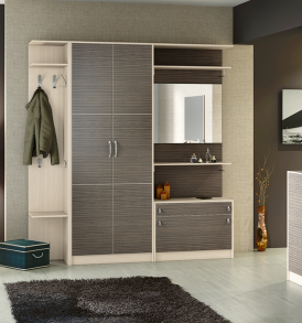 Набор мебели для прихожей «Нова» №3 ГН-156.003