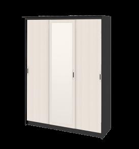 Зеркальный шкаф-купе в спальню «Стэн Лайт» СМ-140.10.002