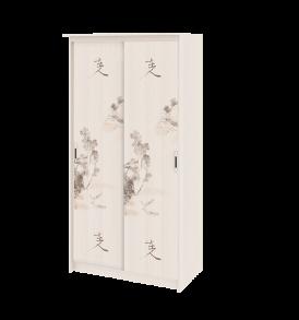 Шкаф-купе в спальню «Стэн Лайт» СМ-140.09.003