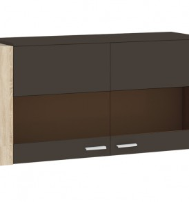 Шкаф настенный с двумя дверями «Ларго» ПМ-182.04