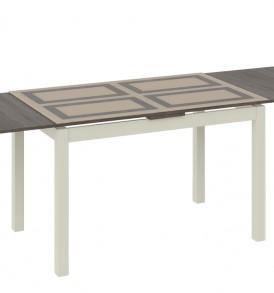 Стол обеденный раздвижной со стеклом «Мельбурн» СМ (Б)-100.11.12(1)