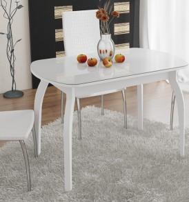Стол обеденный раздвижной на деревянных ножках «Ницца» СМ-217.01.15