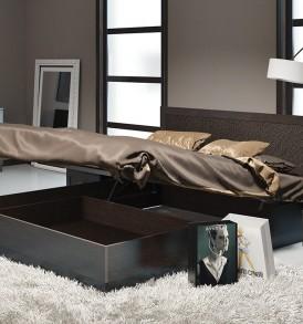 Двуспальная кровать с подъемным механизмом «Сакура» СМ-183.01.002