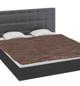 Двуспальная кровать с мягким изголовьем «Токио» СМ-131.01.002-М