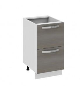Шкаф нижний с 2-мя ящиками Н2я_72-45_2Я