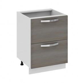 Шкаф нижний с 2-мя ящиками Н2я_72-60_2Я