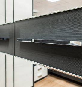 Шкаф угловой с 1-й зеркальной дверью «Сити» СМ-194.07.007
