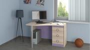 Детский письменный угловой стол «Индиго» №15 ГН-145.015