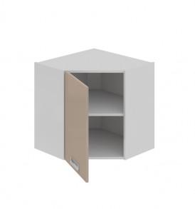 Шкаф верхний угловой с углом 45 (левый) ВУ45_60-(40)_1ДР(А)