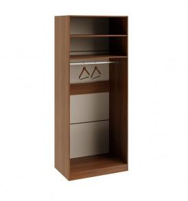 Шкаф для одежды с 1-ой глухой и 1-ой зеркальной левой дверями «Вирджиния» СМ-233.07.04 L